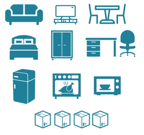 liste des meubles pouvant tenir dans un utilitaire 12m3